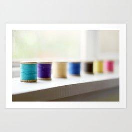 reel colour Art Print