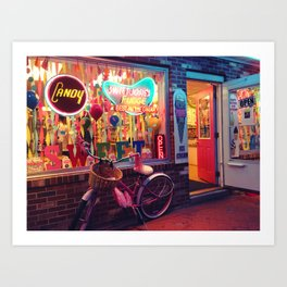 What Are They Selling? Art Print
