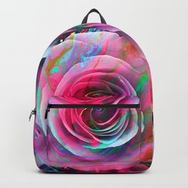 Marble Colored Rose Backpack