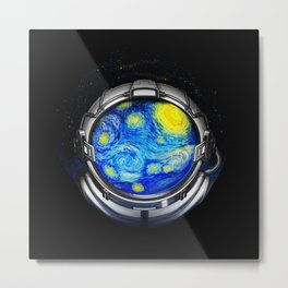 Starry Night Universe Metal Print