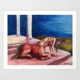 Centaur Dream Art Print