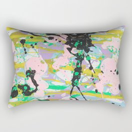 Pastel Abstract Rectangular Pillow