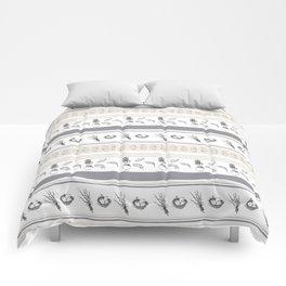 Lineal Bunnies Comforters