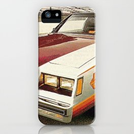 1981 Indianapolis 500 Regal-Grand National Pace car iPhone Case