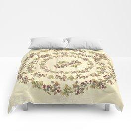 Autumnal love Comforters