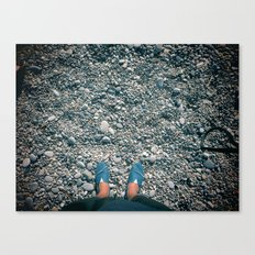 Cannes by foot Canvas Print