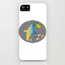 Pineapple Shark 1 iPhone Case
