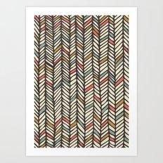 Autumn Threads Art Print