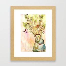 Treehead Framed Art Print