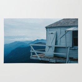 Blue Hour Fire Lookout Rug