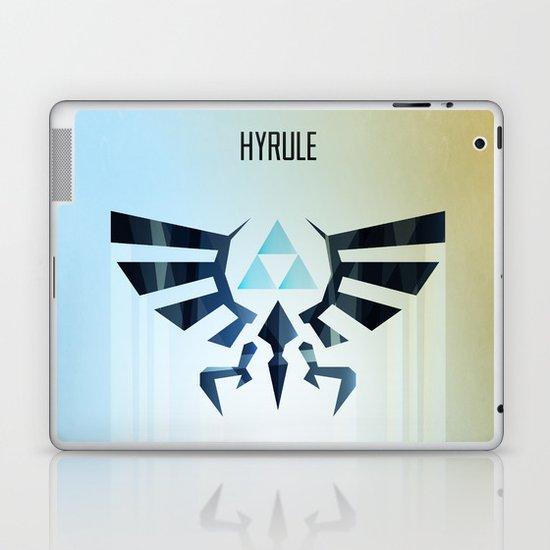 The Legend of Zelda - Hyrule Rising Poster Laptop & iPad Skin