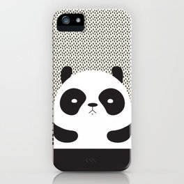 Angry Panda iPhone Case