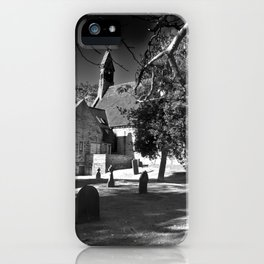 The church of Haxby iPhone Case