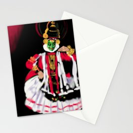 25- Kathakali…Kerala dance art form Stationery Cards