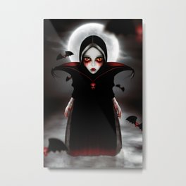 The Vampire Metal Print