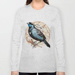 Ninja Kokako Long Sleeve T-shirt