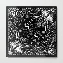 Batscraft: Crows Bandana Metal Print