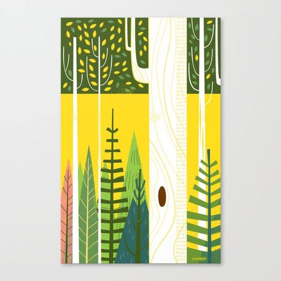 Joyful Trees Canvas Print