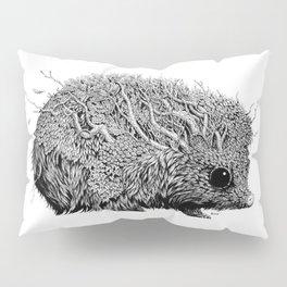 Leaf Hedgehog Pillow Sham