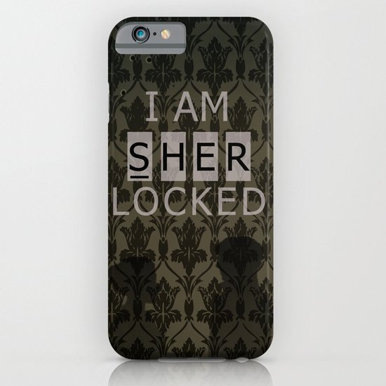 Sherlocked iPhone & iPod Case