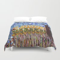 indiana Duvet Covers featuring :: Indiana Blue Willow :: by :: GaleStorm Artworks ::