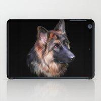 german iPad Cases featuring German Shepherd by Julie Hoddinott