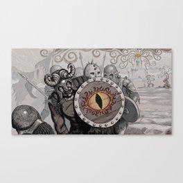 Orcish Swirls Canvas Print