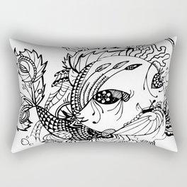 Somefin Fishy Rectangular Pillow