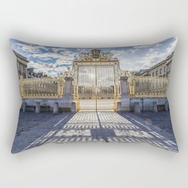 At the Gate Rectangular Pillow