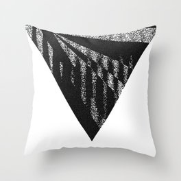 Discardable Triangle Throw Pillow