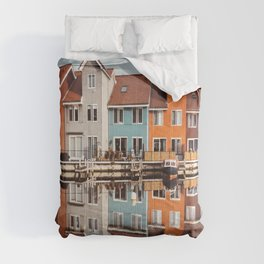 groningen colorful home Comforters