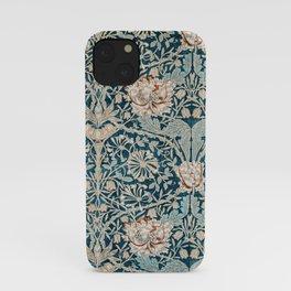 William Morris Honeysuckle pattern 1876 iPhone Case