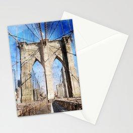 New York City, Bridgework Stationery Cards