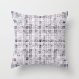 Classical gray cell. Throw Pillow