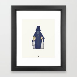 May the Love be with you Framed Art Print