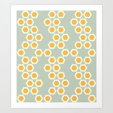 Moroccan Style Orange. Art Print