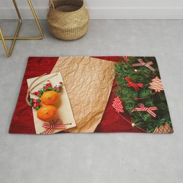 Pictures New year Paper Sheet of paper Mandarine C Rug