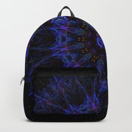 Deep Blue Mandala Backpack