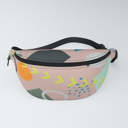 COlorful trendy seamless pattern Fanny Pack