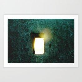 Hope Filters Through Art Print