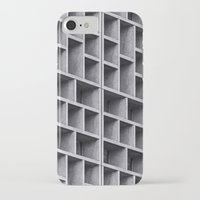 grid iPhone & iPod Cases featuring Grid by Cameron Booth