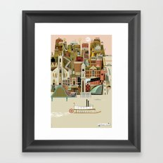 Dubuque Framed Art Print
