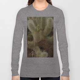 Bird's Nest in Teddy Bear Cholla, #1 Long Sleeve T-shirt