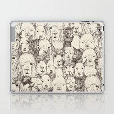 just alpacas natural Laptop & iPad Skin