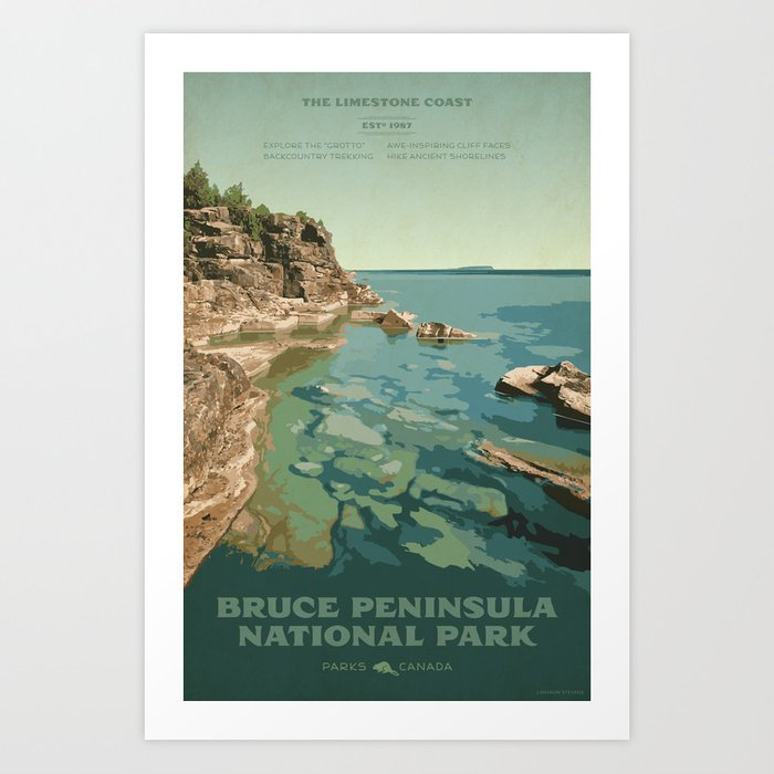 Bruce Peninsula National Park Kunstdrucke