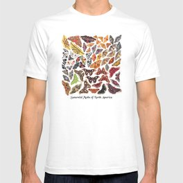 Saturniid Moths of North America T-shirt