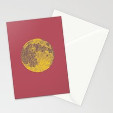 Chinese Mid-Autumn Festival Moon Cake Print Stationery Cards