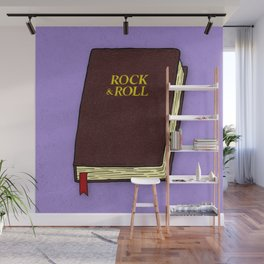 Rock & Roll Bible Wall Mural