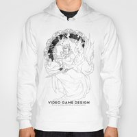 video game Hoodies featuring Video Game Design by Verdant Winter