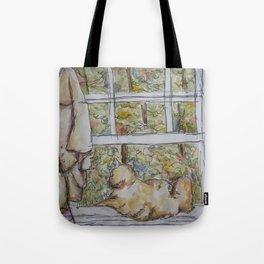 Lily, The Gazer Tote Bag